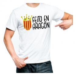 Camiseta adulto unisex Feito en Aragón.