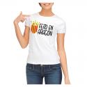 Camiseta adulto chica Feito en Aragón.