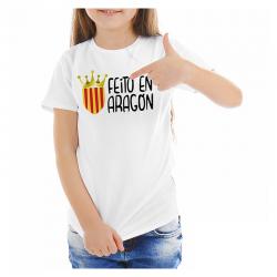T-Shirt Feito en Aragón junior.