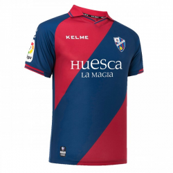 S.D. Huesca Adult Home Shirt 2018-19.