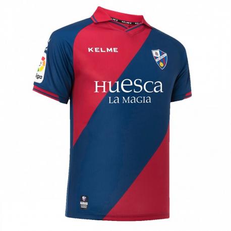S.D. Huesca Adult Home Shirt 2018-19.