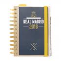 Agenda 2019 día página del Real Madrid.