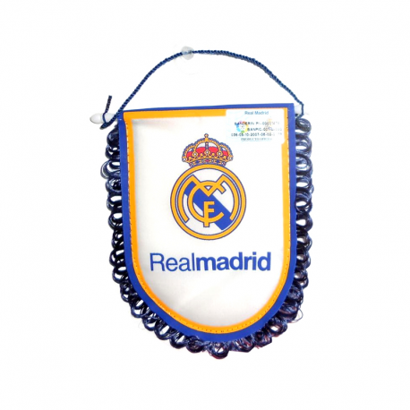 Real Madrid Car Pennant.