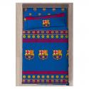 F.C.Barcelona Set of sheets 90 cm.