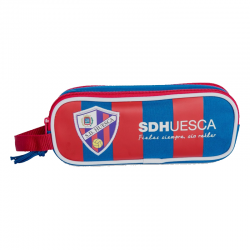 S.D.Huesca double Pencil Case.