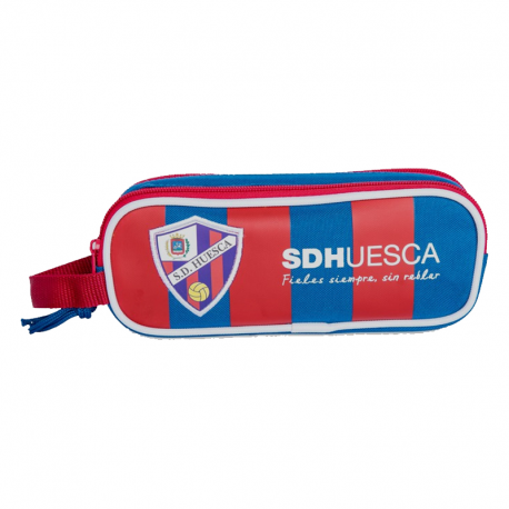 S.D.Huesca double Pencil Case.