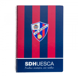 Cahier grand format S.D.Huesca.