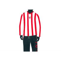 Pijama de niño de manga larga del Athletic de Bilbao.