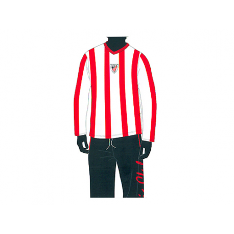Pyjama junior Athletic de Bilbao manches longues.