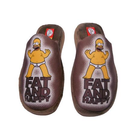 Zapatillas de estar por casa de Los Simpsons.