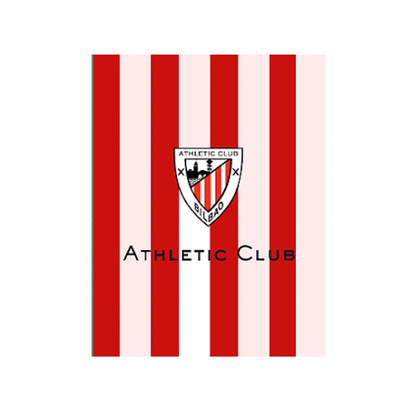 Manta polar del Athletic de Bilbao.