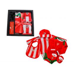 Pack recién nacido del Athletic de Bilbao.