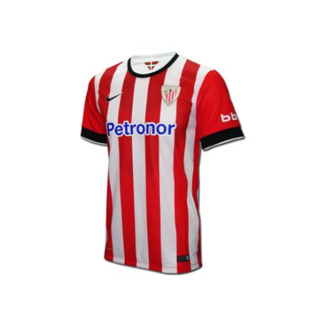 Camiseta niño 1ª equipación Athletic de Bilbao 2014-15.