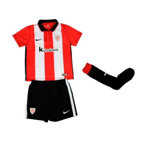 Athletic de Bilbao Little Boys Home Kit 2015-16.