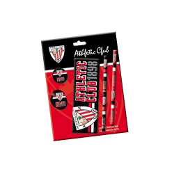 Athletic de Bilbao Stationery 5 pieces.