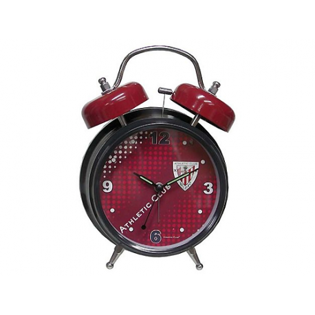 Reloj despertador campana musical Athletic de Bilbao.