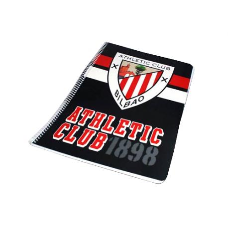 Cuaderno espiral dina A4 del Athletic de Bilbao.