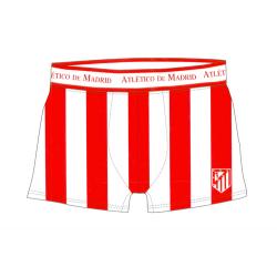 Boxer de lycra del Atlético de Madrid.